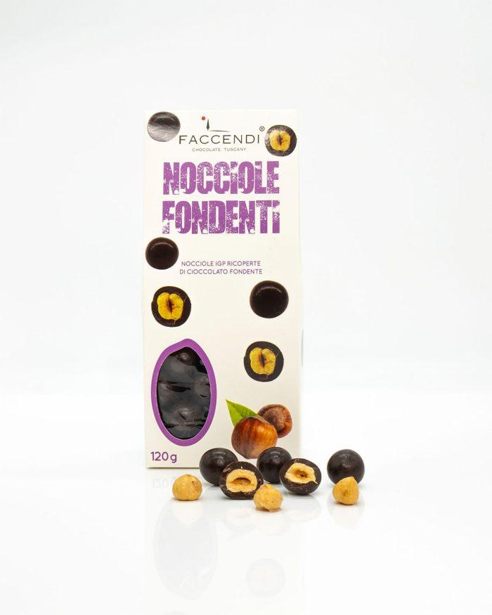 Confetti Nocciole IGP con Cioccolato Fondente   Faccendi