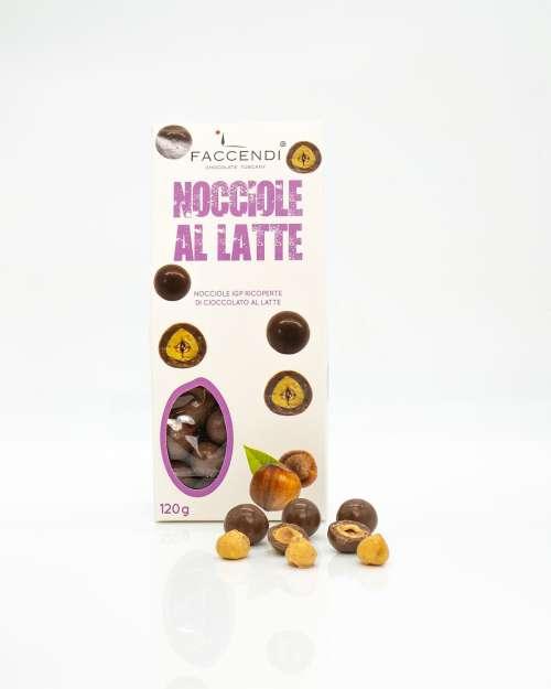 Confetti Nocciole IGP con Cioccolato al Latte | Faccendi