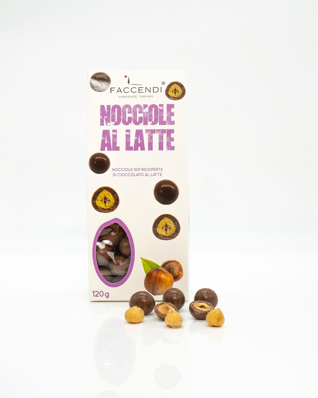 Confetti Nocciole IGP con Cioccolato al Latte   Faccendi